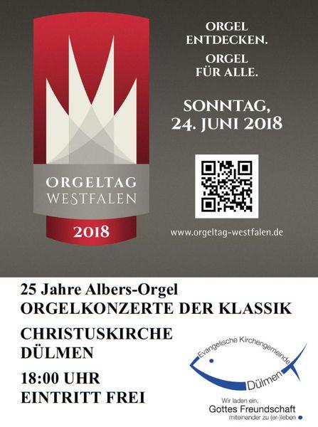 Foto: Plakat Orgelkonzert