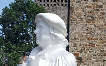 Kopf der Lutherstatue