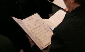 Bild: Chorsänger