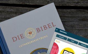 Bild: Lutherbibel 2017 mit App